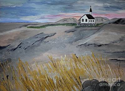Painting - Small Church by Susanne Baumann