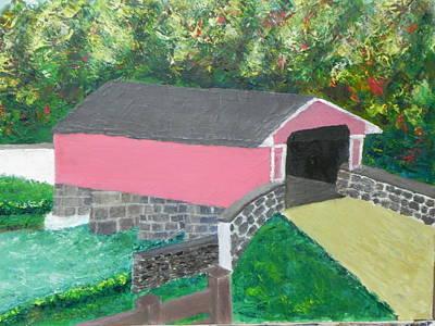 Painting - Smith's Bridge by Ernie Goldberg