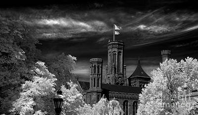 Smithsonian Castle Art Print by Mike Kurec