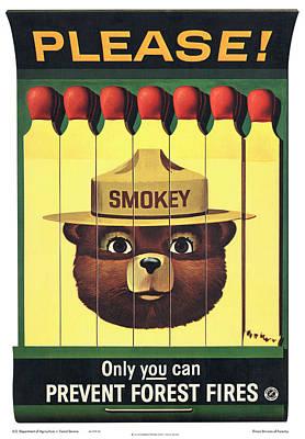 Digital Art - Smokey by Gary Grayson