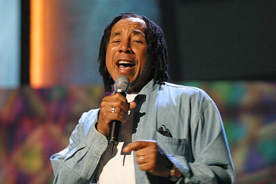Art Print featuring the photograph Smokey Robinson by Don Olea