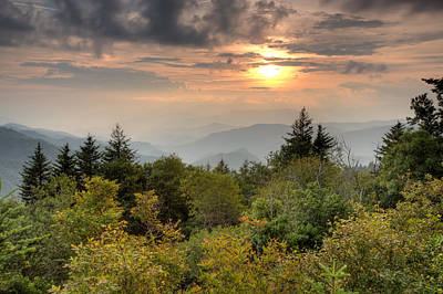 Photograph - Smokies Sunset by Doug McPherson