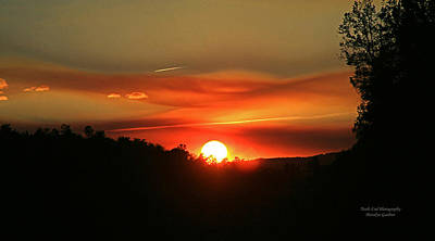 Photograph - Smokin' Payson Sunset by Matalyn Gardner