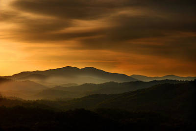 Photograph - Smoky Mountain Morning by Michael Eingle