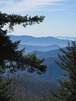 Photograph - Smoky Mountains by Melinda Fawver