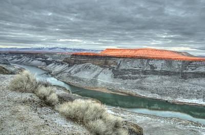 Photograph - Snake River Canyon  by David Martorelli