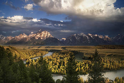 Teton Wall Art - Photograph - Snake River Morning by Andrew Soundarajan