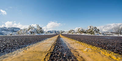 Travel Rights Managed Images - Snow in Southern Arizona? Royalty-Free Image by Stacy Fortson