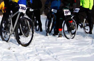Winter Photograph - Snow Run  by Steven Digman