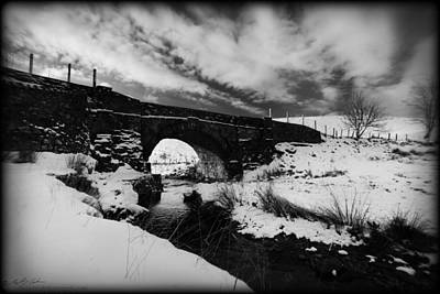 Photograph - Snowy Bridge by Beverly Cash