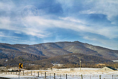 Mountain Royalty-Free and Rights-Managed Images - Snowy High Peak Mountain by Betsy Knapp