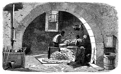 Soap Factory Workers Art Print