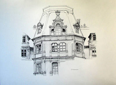 Sobanski Palace Art Print by Nel Kwiatkowska