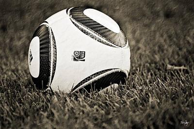 South Louisiana Photograph - Soccer - Sepia by Scott Pellegrin