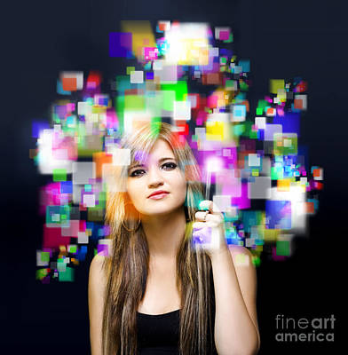 Downloads Photograph - Social Media And Networking by Jorgo Photography - Wall Art Gallery