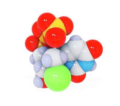 Sofosbuvir Hepatitis C Drug Art Print