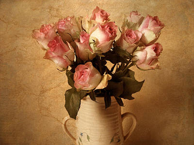 Pink Roses Photograph - Soft Spoken by Jessica Jenney