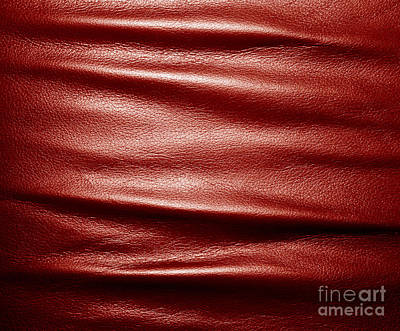 Cover Photograph - Soft Wrinkled Black Leather by Michal Bednarek