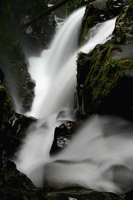 Sol Duc Falls At Olympic National Park Art Print