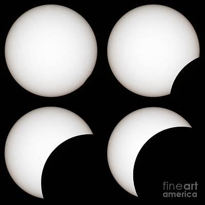 Solar Eclipse Art Print by Laurent Laveder