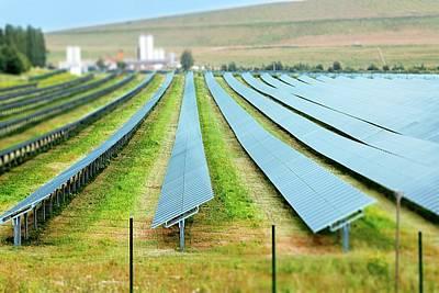 Solar Panels Art Print