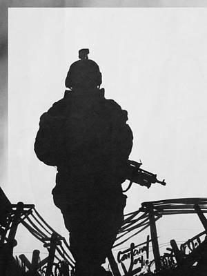 Soldier Art Print by David Cohen
