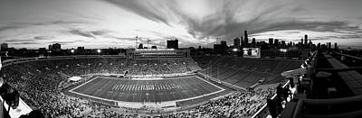 Soldier Field Photograph - Soldier Field Football, Chicago by Panoramic Images