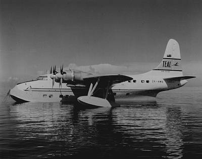 Solent Flying Boat Art Print by Retro Images Archive