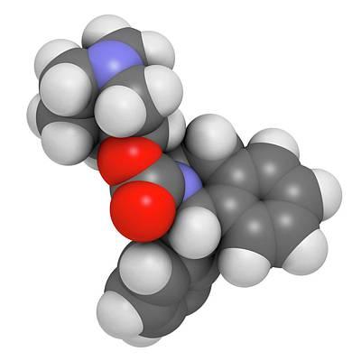 Solifenacin Overactive Bladder Drug Art Print by Molekuul