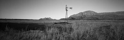 89 Photograph - Solitary Windmill In A Field, U.s by Panoramic Images