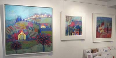 Painting - Solo Exhibition by Giuliana Lazzerini