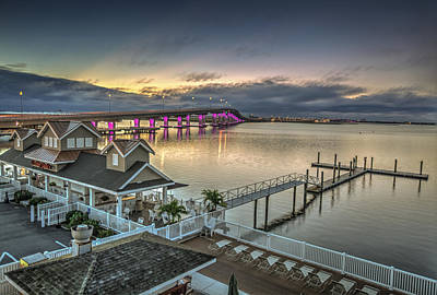 Photograph - Somers Point Bridge by Al Hurley