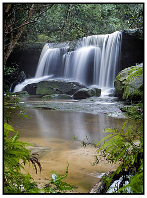 Photograph - Somersby Falls by Steve Caldwell