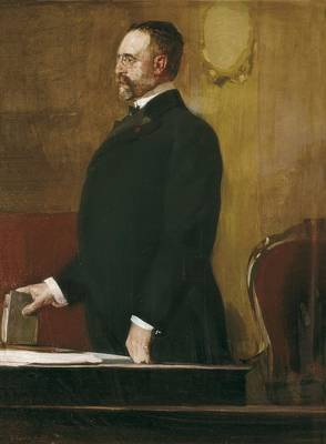 Sorolla, Joaquín 1863-1923. Portrait Print by Everett