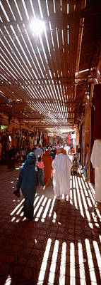 Marrakech Photograph - Souk, Marrakech, Morocco by Panoramic Images