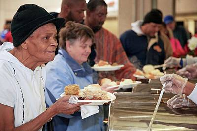 Altruism Photograph - Soup Kitchen by Jim West