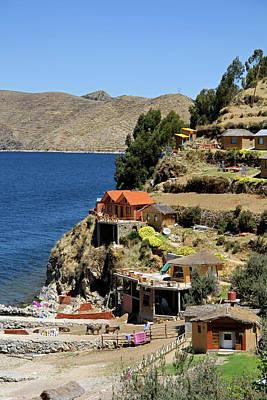 Bolivia Photograph - South America, Bolivia, Sun Island by Kymri Wilt