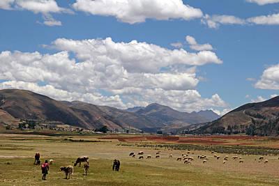 Andean Photograph - South America, Peru by Kymri Wilt