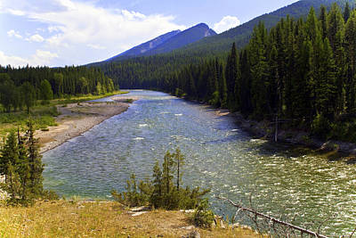 Montana Landscape Photograph - South Fork Of The Flathead River by Merle Ann Loman
