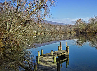 Photograph - South Fork Shenandoah River by Lara Ellis