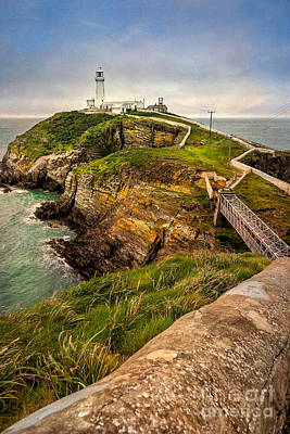 Photograph - South Stack Lighthouse by Adrian Evans