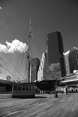 South Street Seaport - New York Art Print