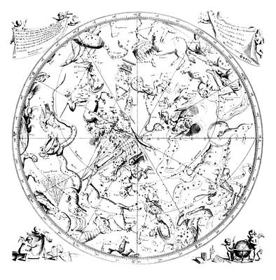 Austral Wall Art - Photograph - Southern Constellations by Royal Astronomical Society/science Photo Library