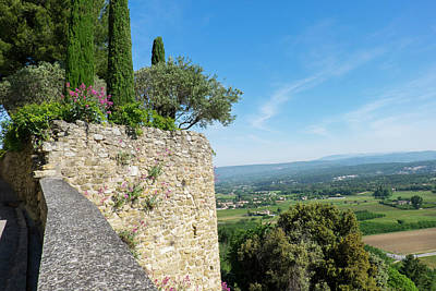 Provence Photograph - Southern France, Provence, Luberon by Emily Wilson
