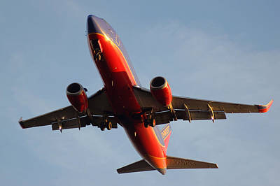 Photograph - Southwest Landing At Tpa II by Daniel Woodrum