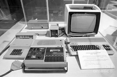 Soviet Mikrosha Computer, 1987 Art Print by RIA Novosti