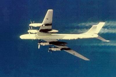 Socialist Mixed Media - Soviet Tupolev 95 Bear  by L Brown