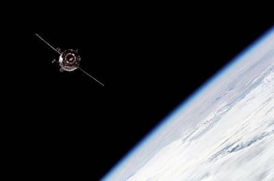 3 October Photograph - Soyuz Tma-3 Spacecraft by Nasa