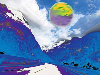 Digital Art - Unknown Planet by Augusta Stylianou