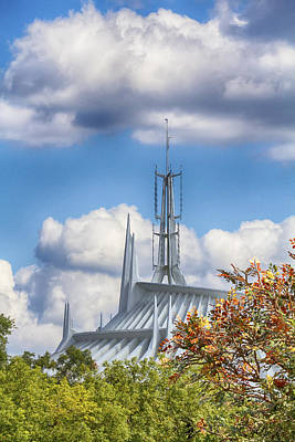 Photograph - Space Mountain by Nicholas Evans
